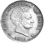 Taler  Ludwig 1829-1830  Sehr schön
