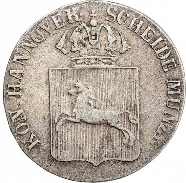 1/24 Taler Hannover König Ernst August 1838-1846