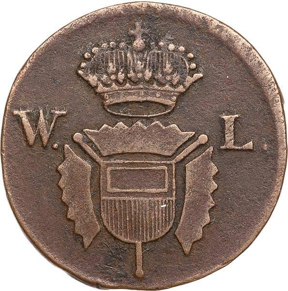1 Guter Pfennig Hessen-Kassel Landgraf Wilhelm IX. 1787 - 1803