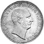 Taler König Ernst August 1838-1840 ss-vz
