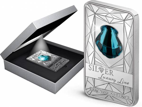 20 Dollars Cook-Inseln Silver Luxury Line 2015