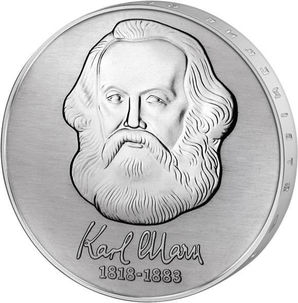 20 Mark DDR Karl Marx 1983