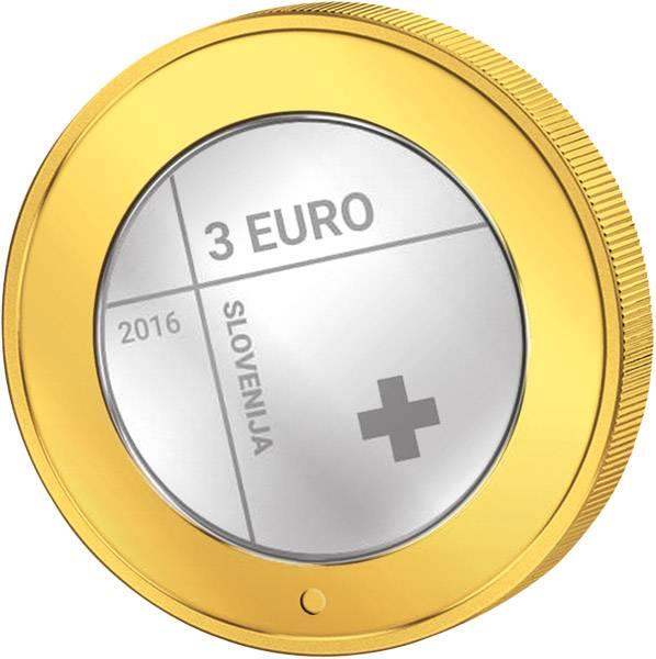 3 Euro Slowenien 150 Jahre Rotes Kreuz 2016 prägefrisch