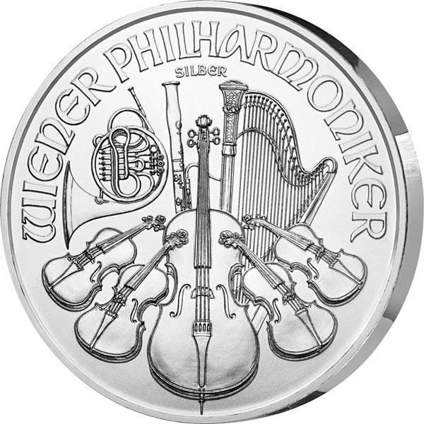 1 Unze Silber Österreich Wiener Philharmoniker 2020