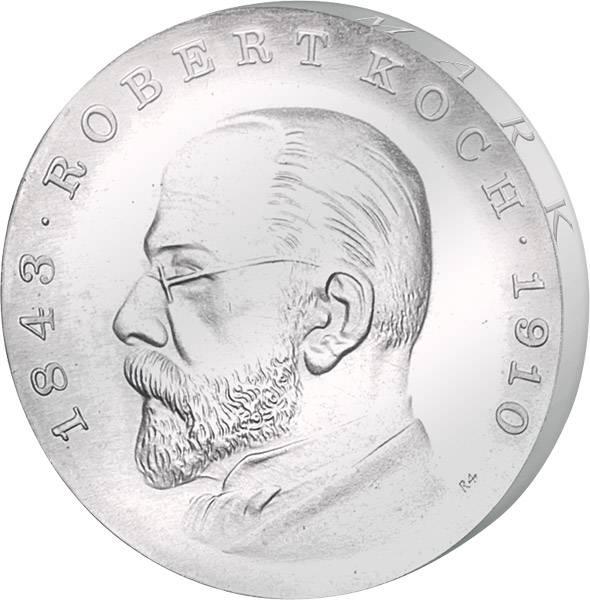 5 Mark DDR Robert Koch 1968