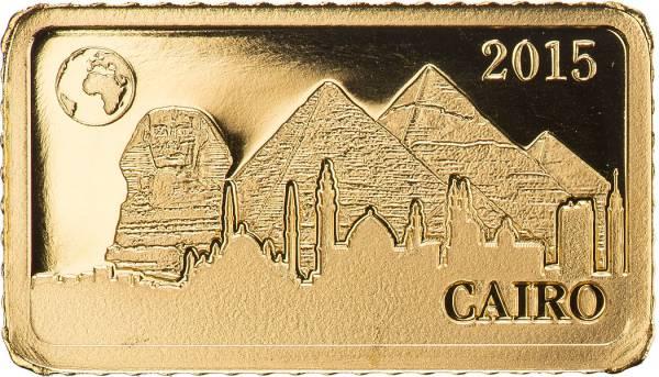 10 Dollars Salomonen Kairo Pyramiden von Gizeh 2015