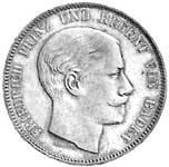 Taler Doppeltaler Friedrich I. 1852 und 1854  ss-vz
