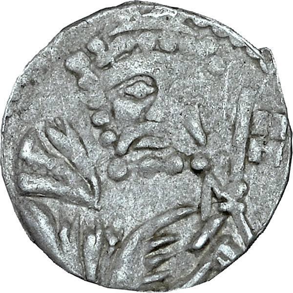 Heller Liegnitz Brustbild des heiligen Petrus