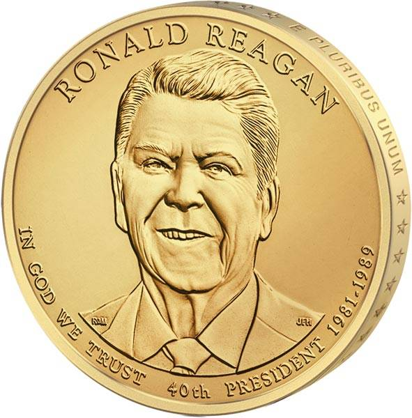 1 Dollar USA Ronald Reagan 2016