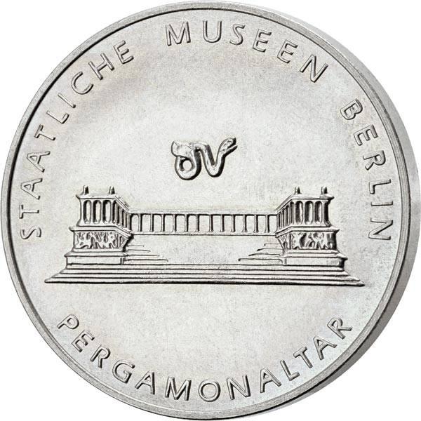 Gedenkmedaille DDR Pergamonaltar 1967