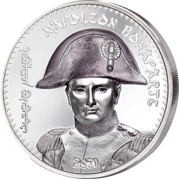1.000 Togrog Mongolei Napoleon Bonaparte 2021