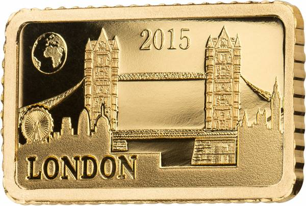 10 Dollars Salomonen London Tower Bridge 2015