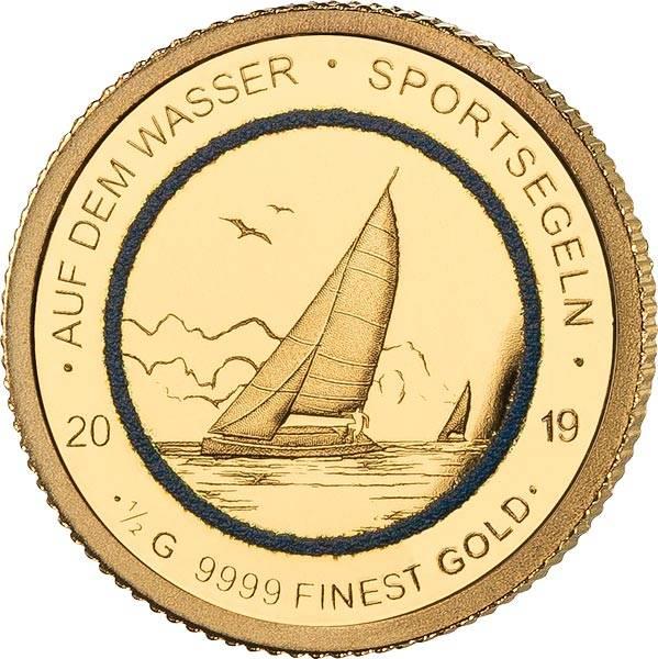 250 Francs Senegal Auf dem Wasser Sportsegeln 2019