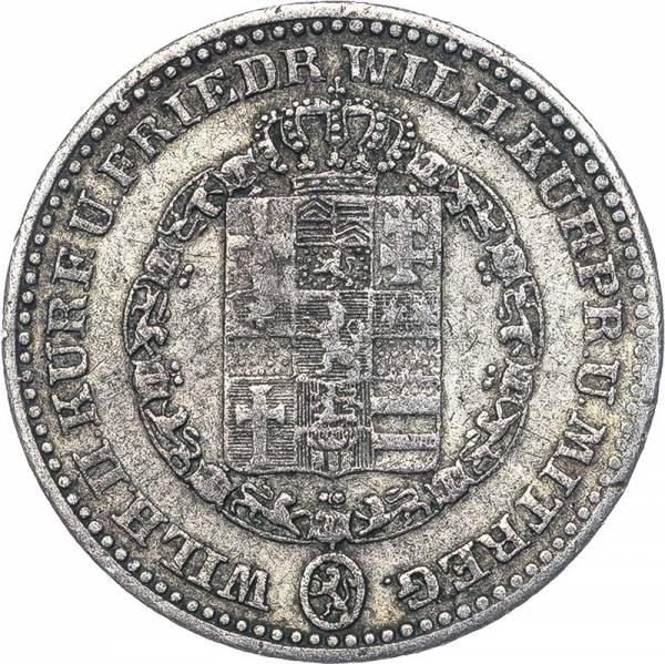 1/6 Taler Hessen-Kassel Kurfürst Wilhelm II. und Friedrich Wilhelm 1833-1846