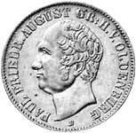 Taler  Paul Friedrich August 1846  Sehr schön