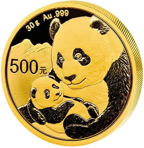 500 Yuan China Panda 2019