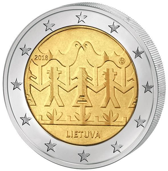 2 Euro Litauen Gesangs- und Tanzfestival 2018