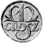 1 Grosz Polen Polnischer Adler 1939 Sehr schön