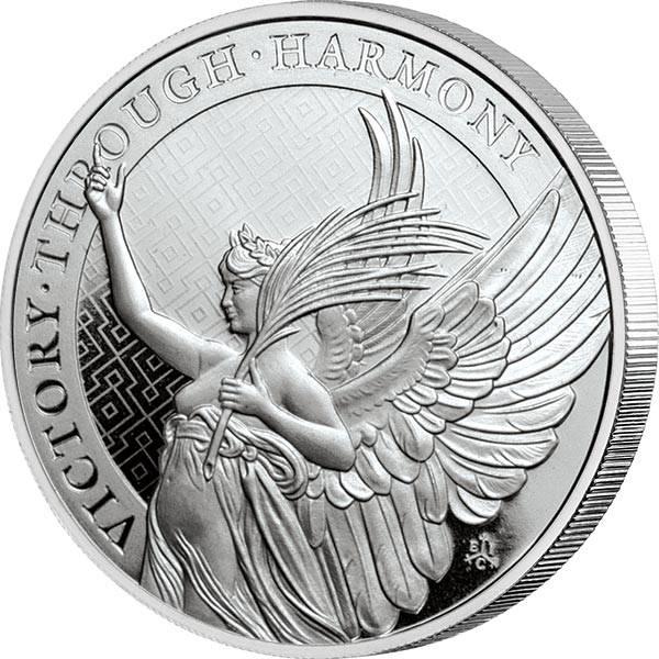 1 Unze Silber St. Helena Victory 2021