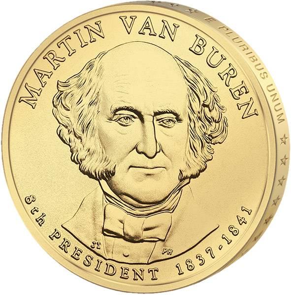 1 Dollar USA Martin Van Buren 2008 Stempelglanz