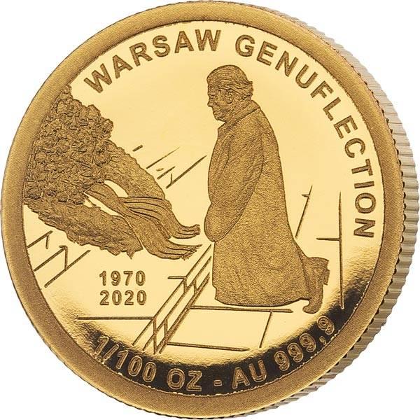 3.000 Francs Tschad Kniefall von Warschau 2020