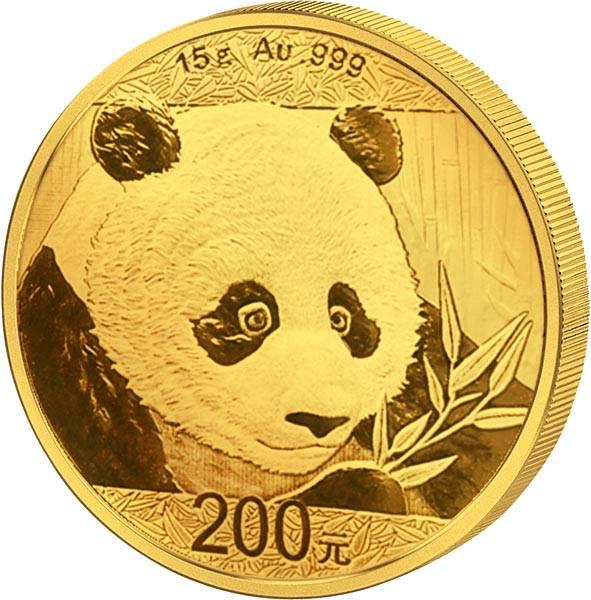 200 Yuan China Panda 2018