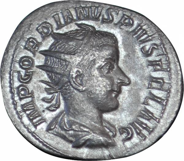 Antoninian Rom Kaiser Gordianus III. um 238 n.Chr. ss-vz