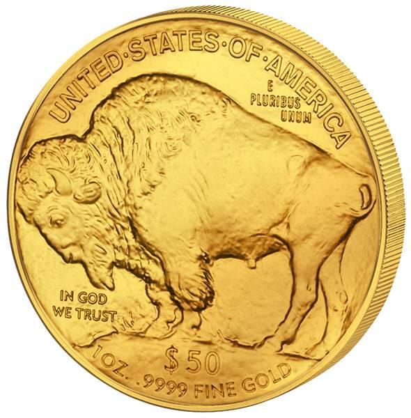 1 Unze Gold USA Buffalo 2017