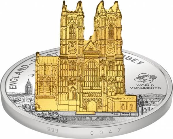 Weltmonumente auf Münzen - England Westminster Abbey 2011