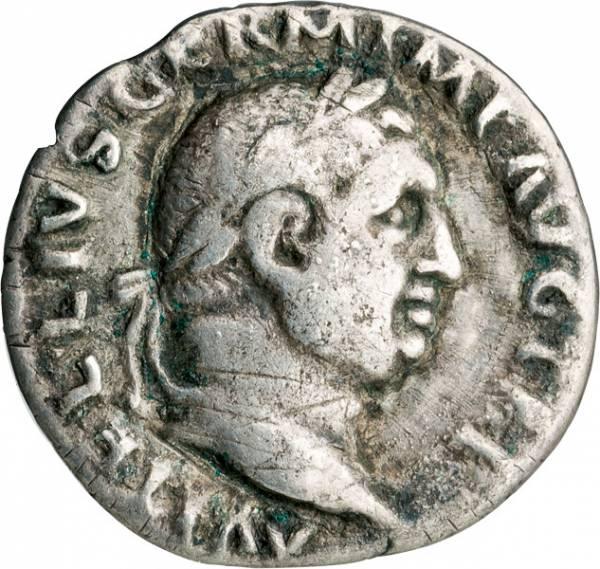 Denar Römisches Kaiserreich Kaiser Vitellius
