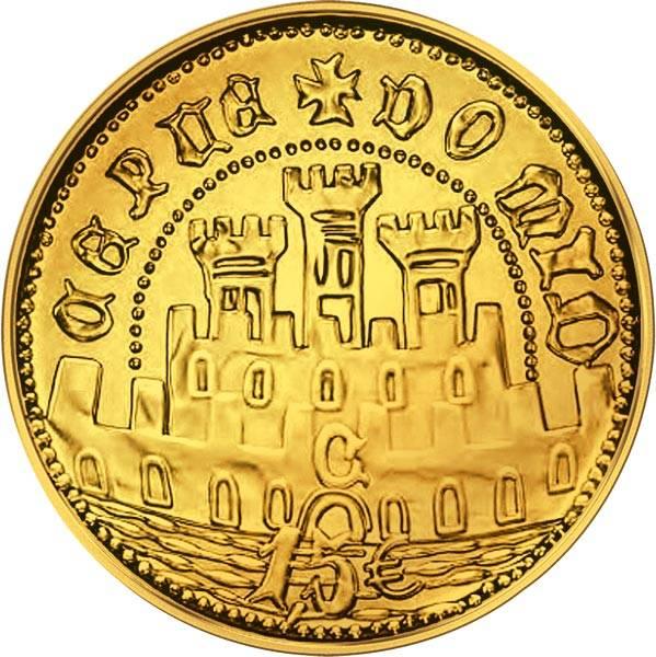 1,5 Euro Portugal Halb-Escudo von Ceuta 2020