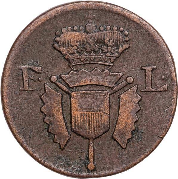 1 Guter Pfennig Hessen-Kassel Landgraf Freidrich II. 1772 - 1785