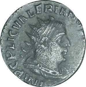 Valerianus l. Antoninian Antike/Rom 253-260 n.Chr. Sehr schön