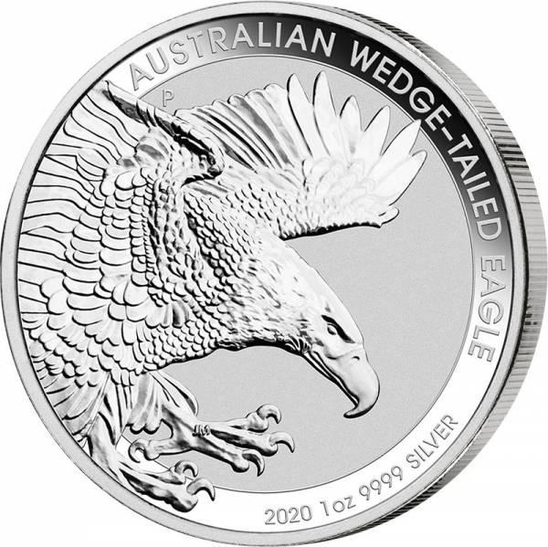 1 Unze Silber Australien Keilschwanzadler 2020