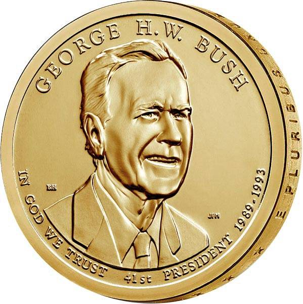 1 Dollar USA George H. W. Bush 2020