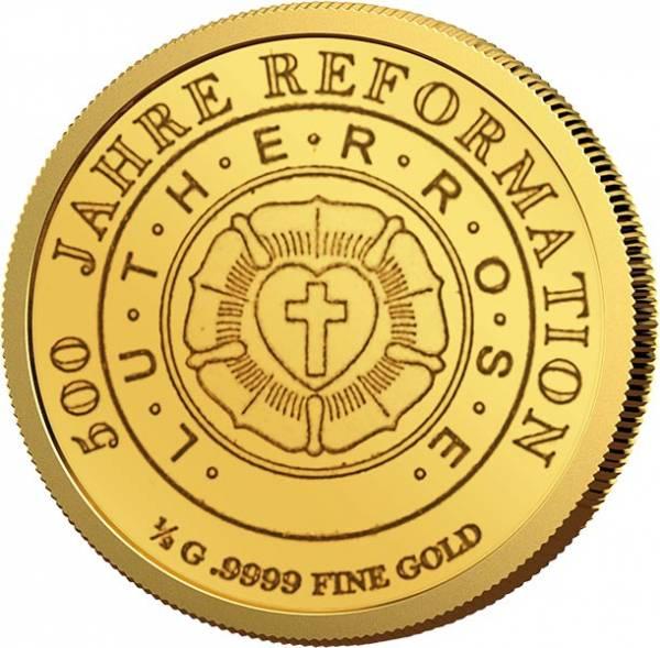 1000 Francs Guinea Lutherrose 2017