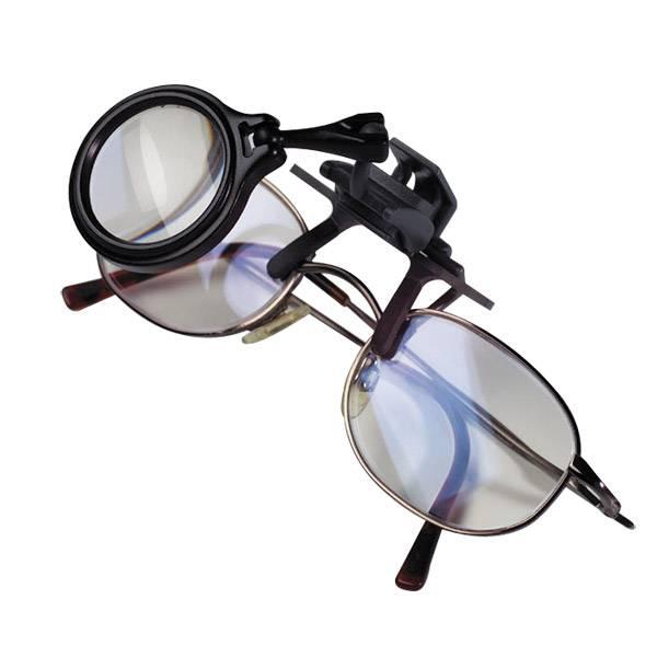 5-fache-Vergrößerung Klemm-Lupe für das Brillengestell