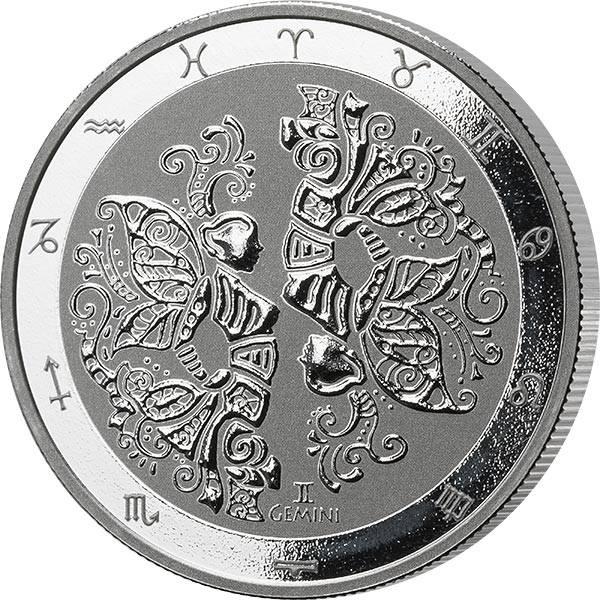 1 Unze Silber Tokelau Widder 2021