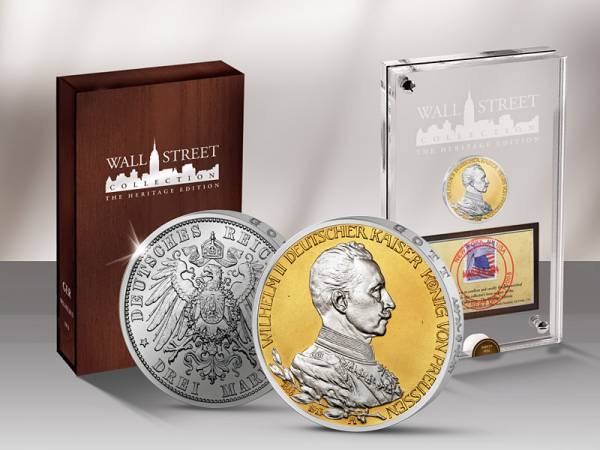 Wall Street Investment Heritage Edition Kaiser Wilhelm II 2014 - FOTOMUSTER
