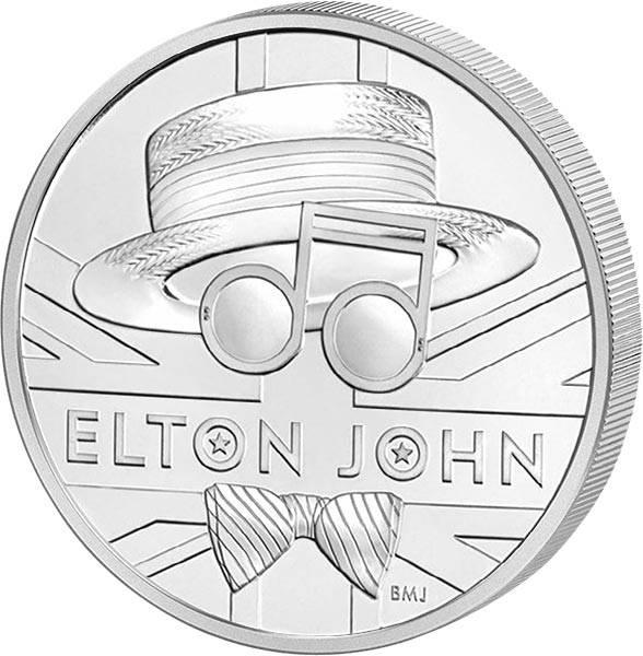 5 Pounds Großbritannien Elton John 2020