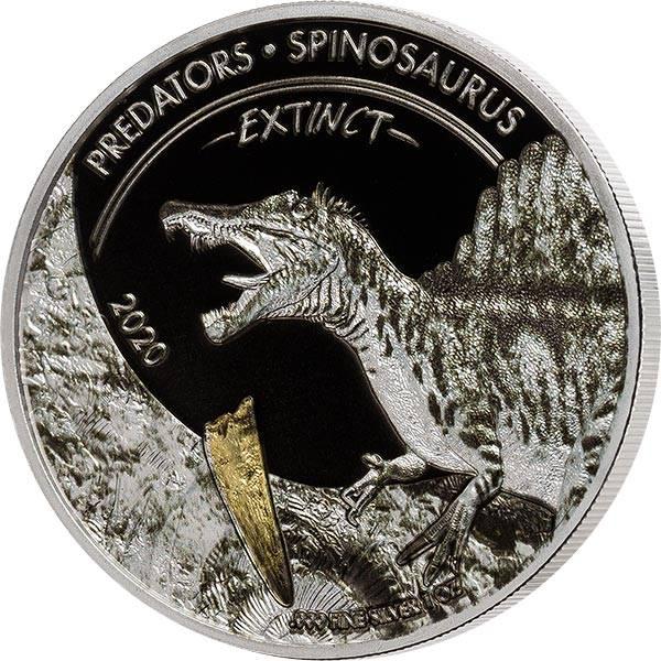 20 Francs Kongo Predators Spinosaurus 2020
