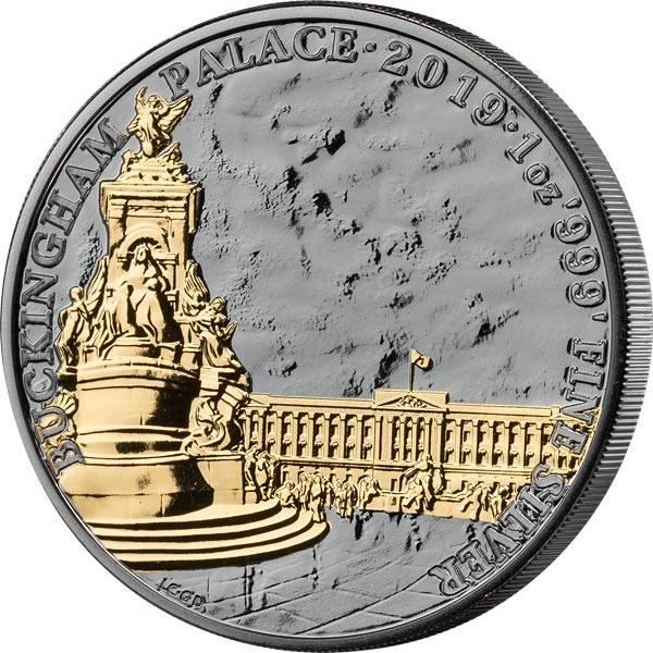 1 Unze Silber Großbritannien Buckingham Palast 2019