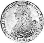 Taler Konventionstaler  Hermann Friedrich Otto 1804  ss-vz