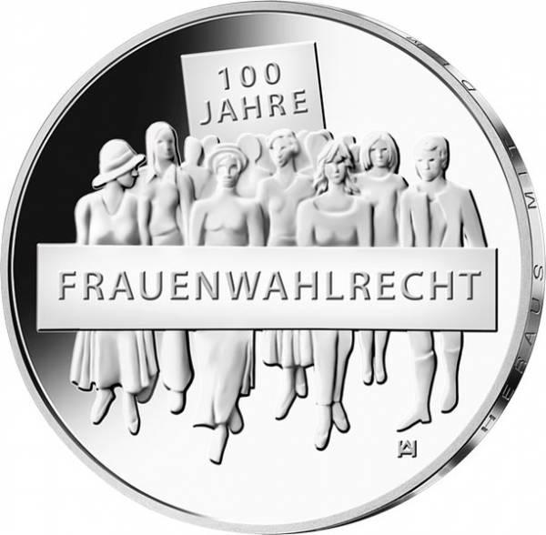 20 Euro BRD 100 Jahre Frauenwahlrecht 2019