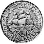 5 Mark Weimarer Republik Bremerhaven 1927 Vorzüglich