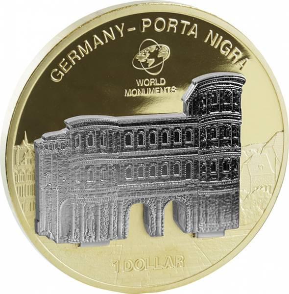 1 Dollar Cook-Inseln Porta Nigra 2009
