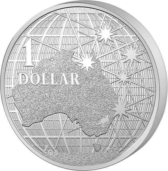 1 Unze Silber Australien Unter dem südlichen Himmel 2020