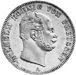 Taler Vereinstaler Wilhelm I. 1861-1863 Sehr schön