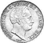 Taler Doppeltaler Friedrich Wilhelm 1844-1846  Sehr schön