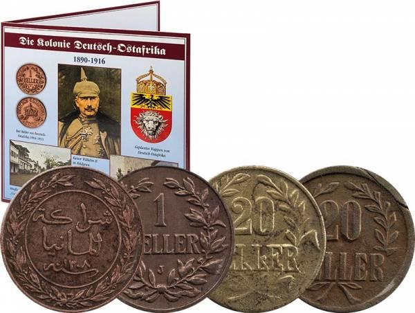 1 Pesa - 20 Heller Deutsch-Ostafrika 1890-1916
